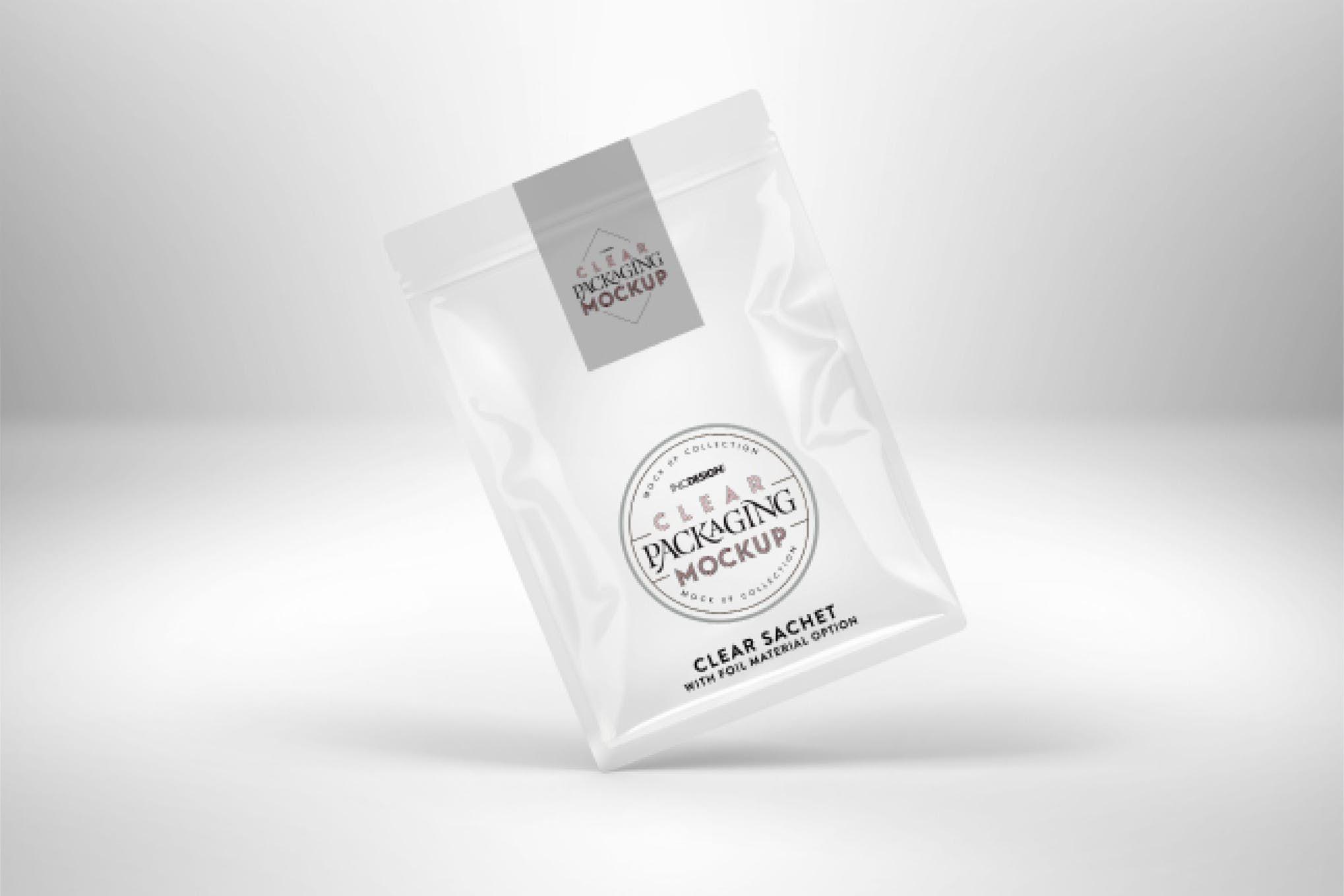 Download Clear Foil Sachet Packaging Mockup By Ina717 On Envato Elements Packaging Mockup Foil Packaging Sachet