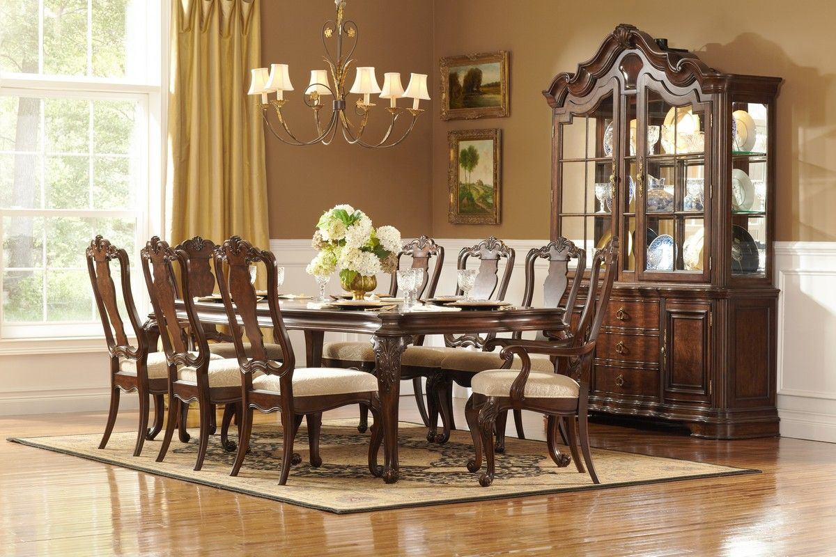 Perry Hall Dining Collection By Homelegance features