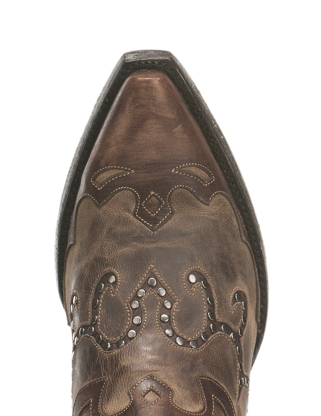 6fe4b133810 Cavender's by Old Gringo Women's Antique Brown with Studded Inlays ...