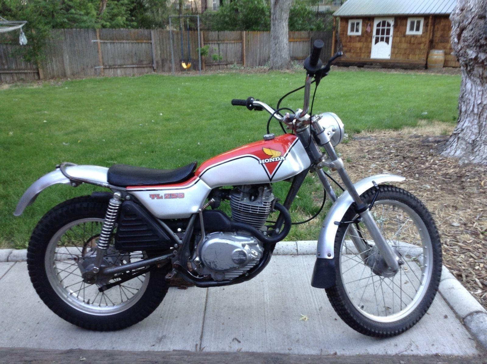 1976 honda tl250 trials motorcycle ebay terry 39 s stuff. Black Bedroom Furniture Sets. Home Design Ideas