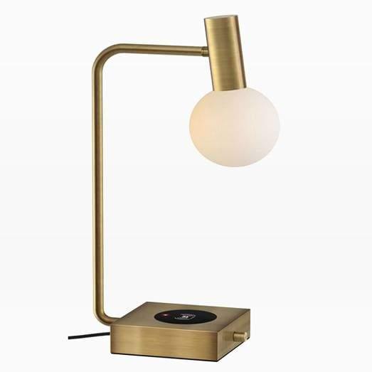 Modern Deco Led Wireless Charging Usb Task Lamp In 2020 Table Lamp Lamp Modern Table Lamp