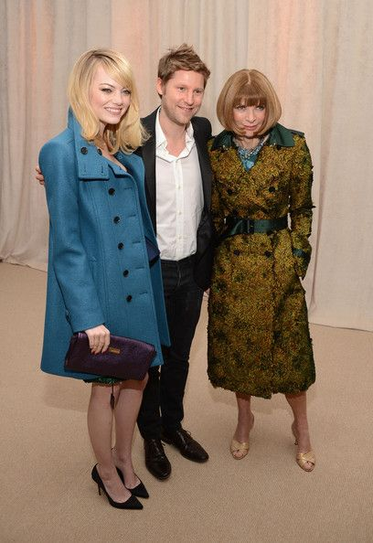 Emma Stone Photos: The Ninth Annual CFDA/Vogue Fashion Fund Awards - Cocktail Party