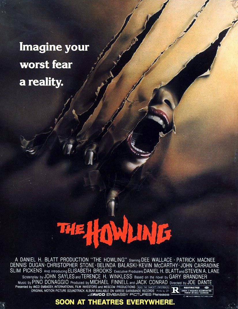 The Howling (1981) Best werewolf movies, Classic horror