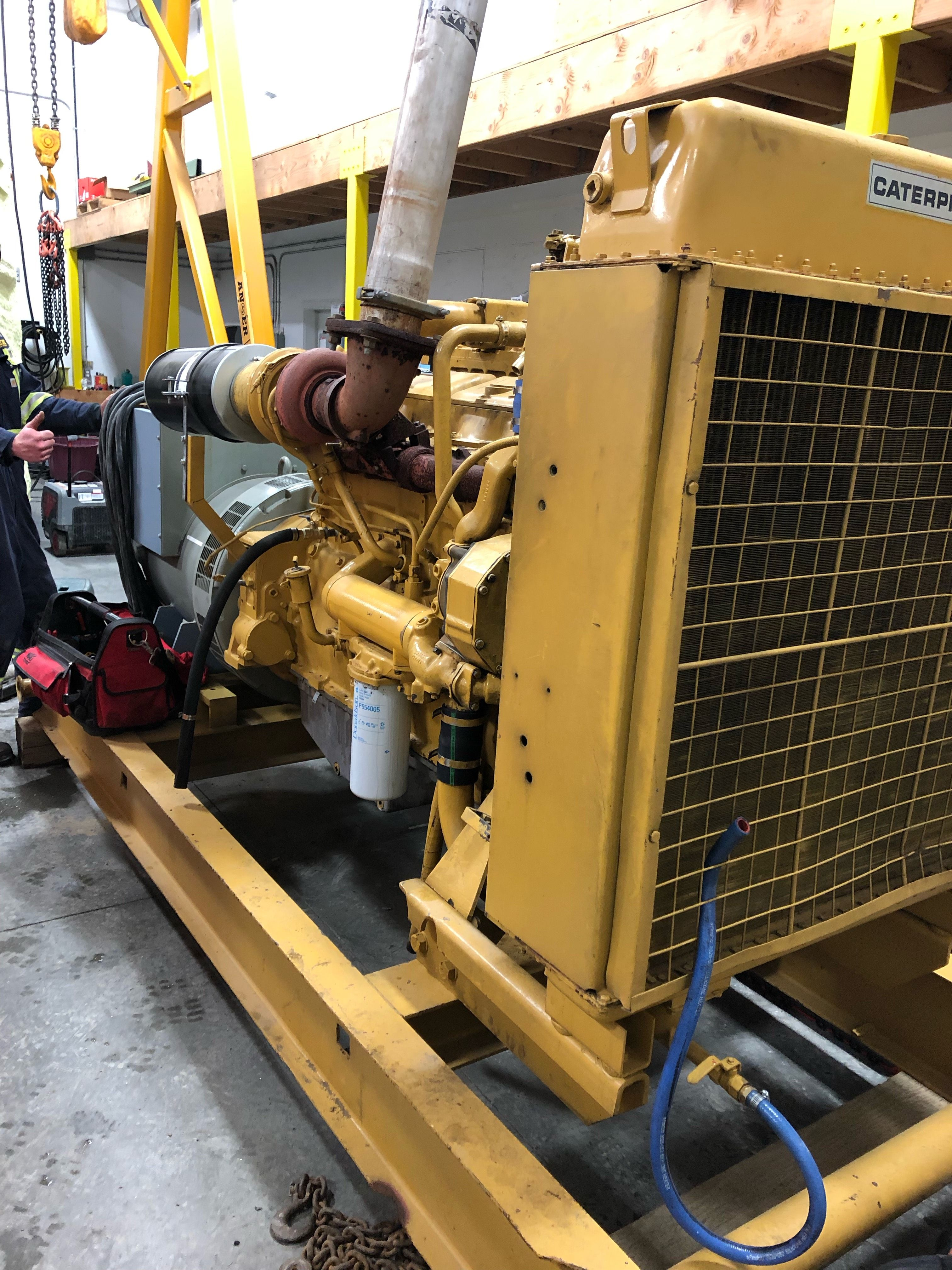Caterpillar Genset Generators for sale, Used generators