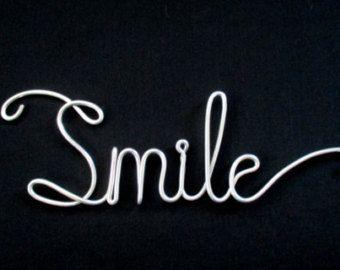 wire word smile, wire word, wire script word, wire word ...