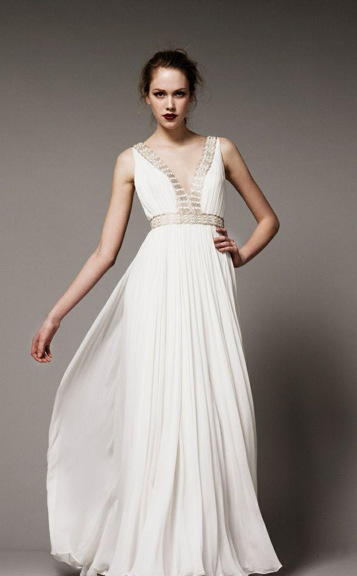1001 visions chic pour votre mariage avec une robe grecque pinterest d esse grecque. Black Bedroom Furniture Sets. Home Design Ideas