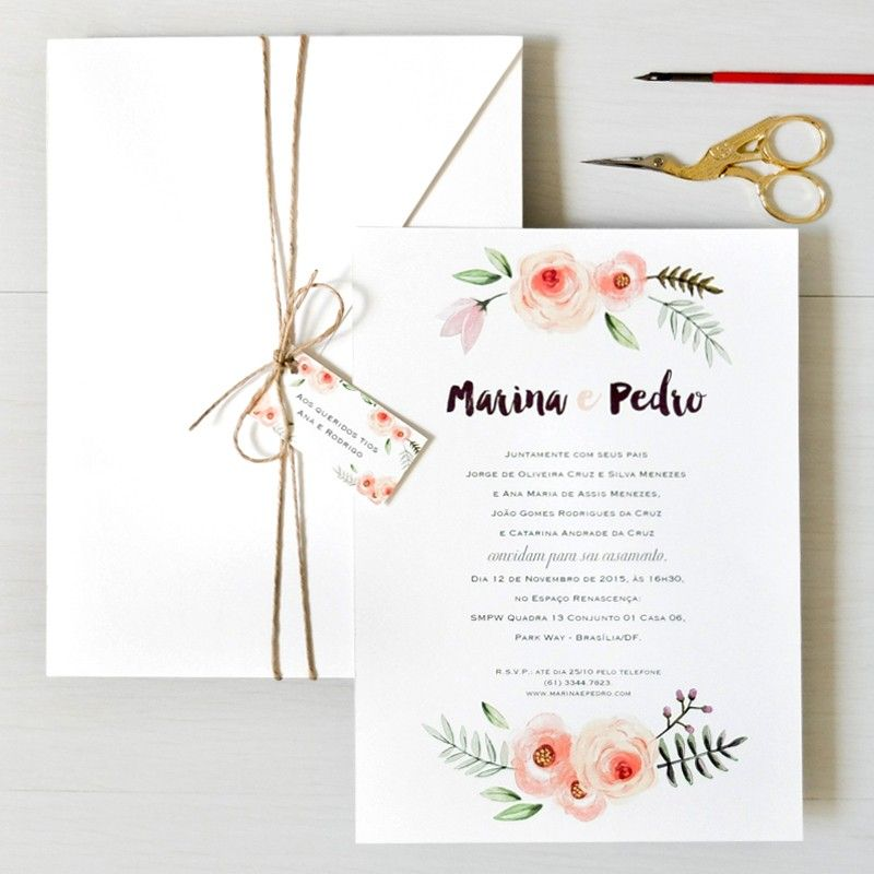 Pin by fillipe oliveira on invitations pinterest wedding wedding invitation cards watercolor invitations type fonts rustic wedding theme marriage invitation card stationery store the one dreams flowers stopboris Gallery