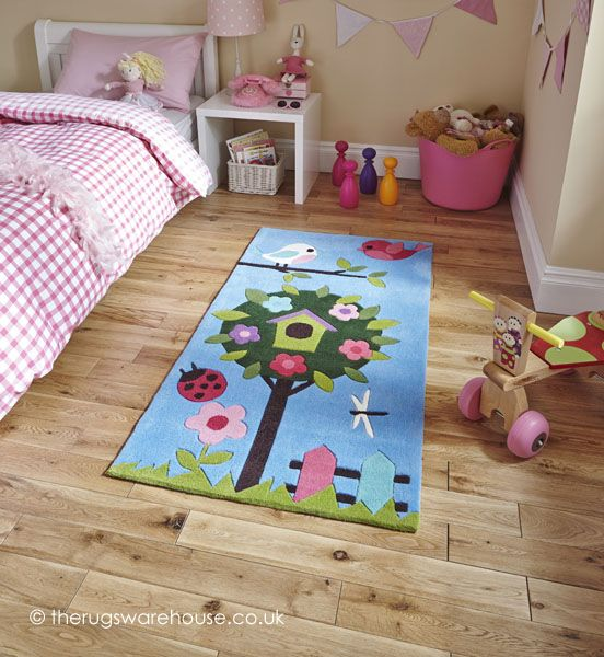 Bird House Rug Kids Rugs Childrens