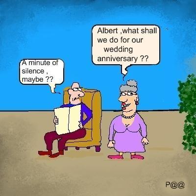 Cartoon Happy Wedding Anniversary Writer Cramps Main Another