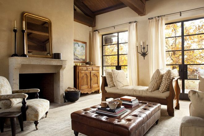 Winery Living In Napa Valley Home Family Living Rooms Family Room