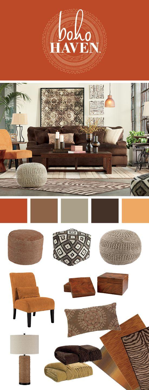 Boho HavenTM Living Room Furniture