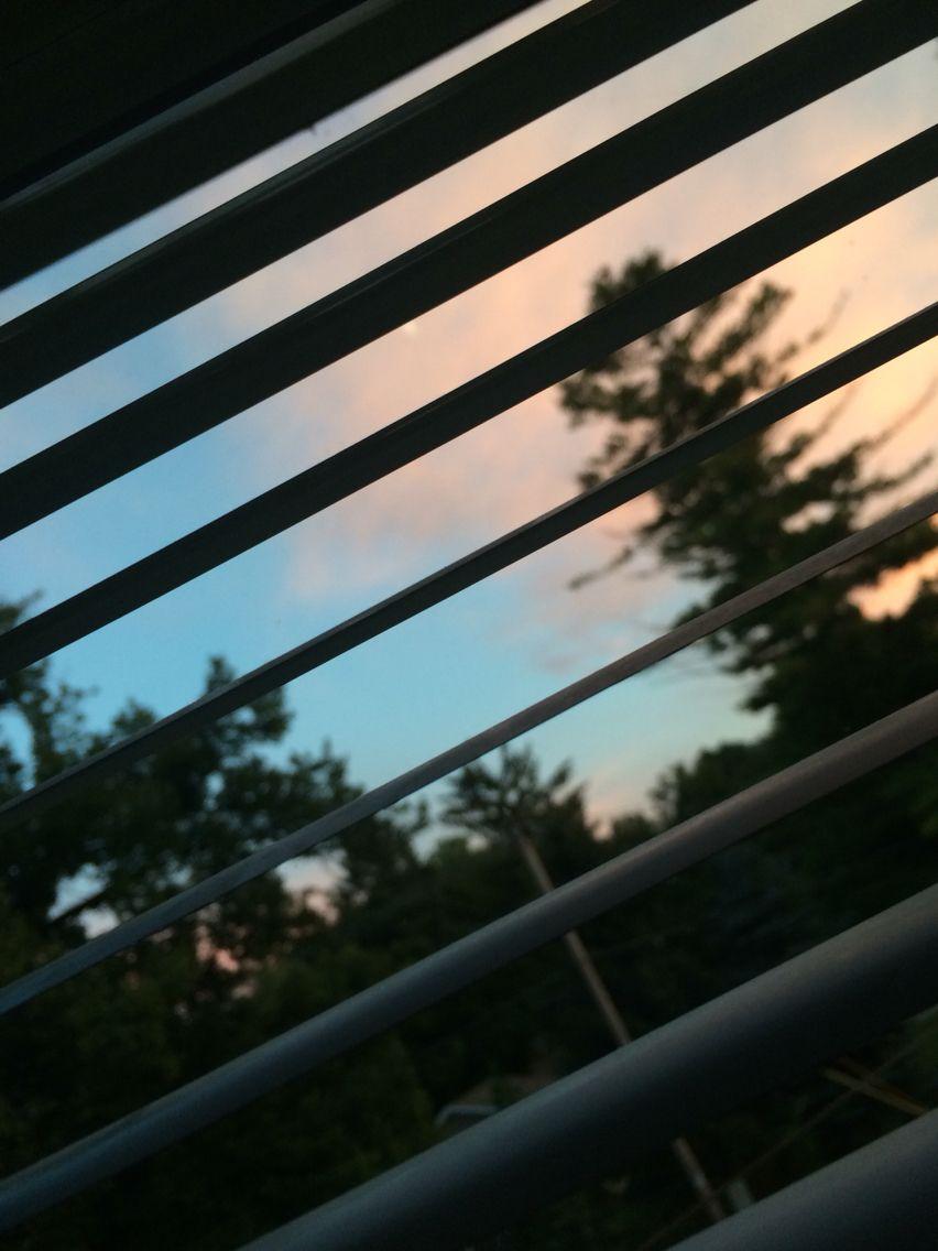 Last nights sunset from my window