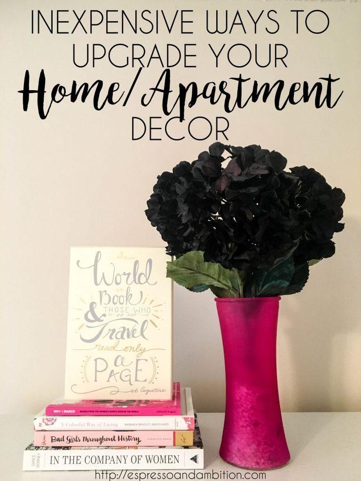 Inexpensive Ways To Upgrade Your Dorm/Apartment Decor