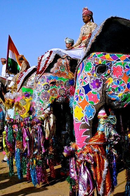 Jaipur festival of elephants