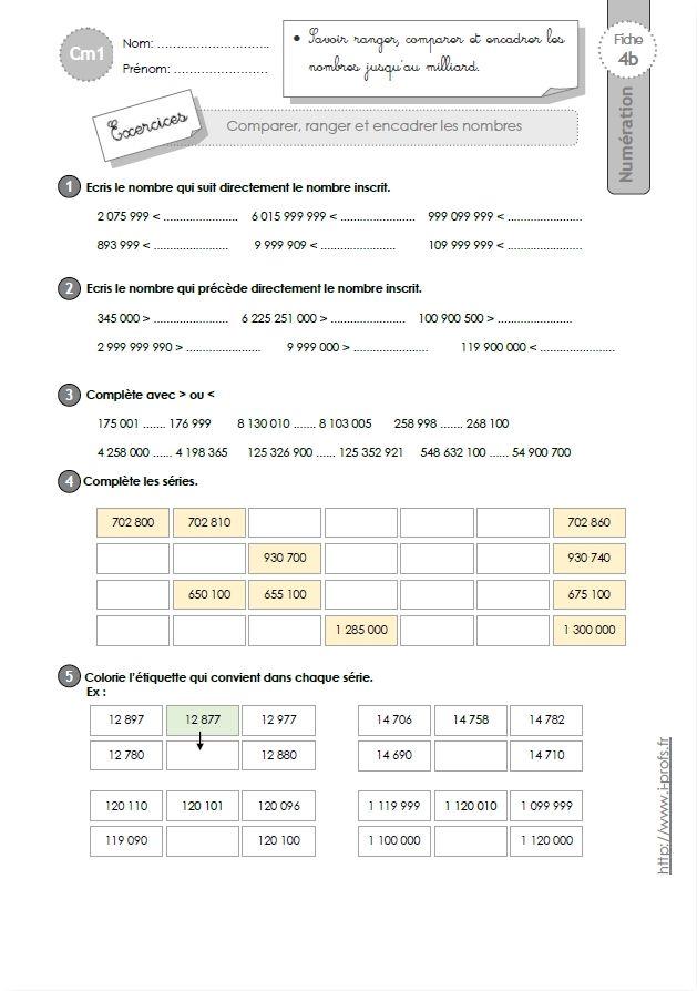 test de math sur arrondissement pdf