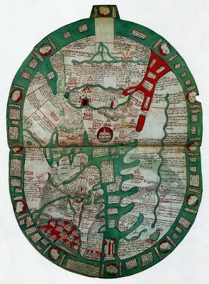 Ancient World Maps: 14th century