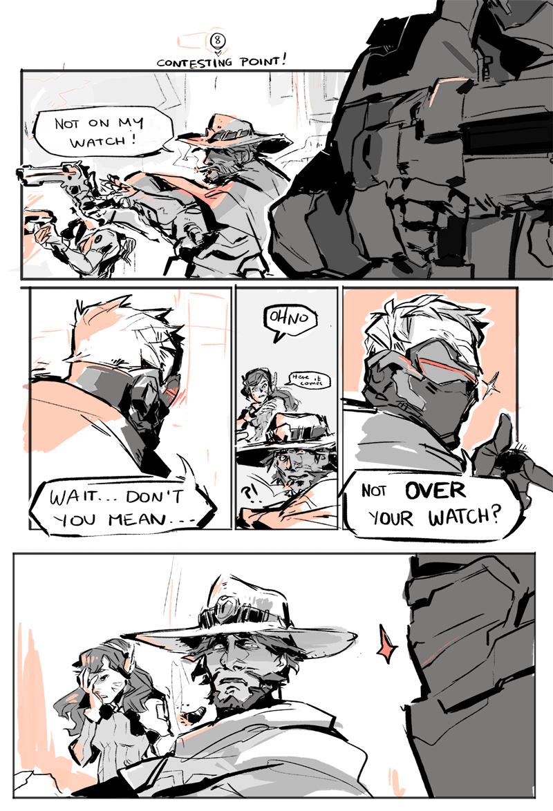 Dad 76 Overwatch Overwatch Comic Overwatch Funny