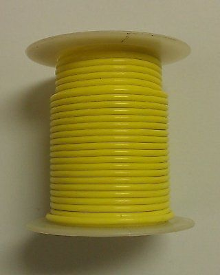Yellow 14awg Stranded 600v Teflon Insulated Hook Up Wire 100 Roll By Gpw 224 99 T14 04 100 Electronic Accessories Electronics Audio Speaker Accessories