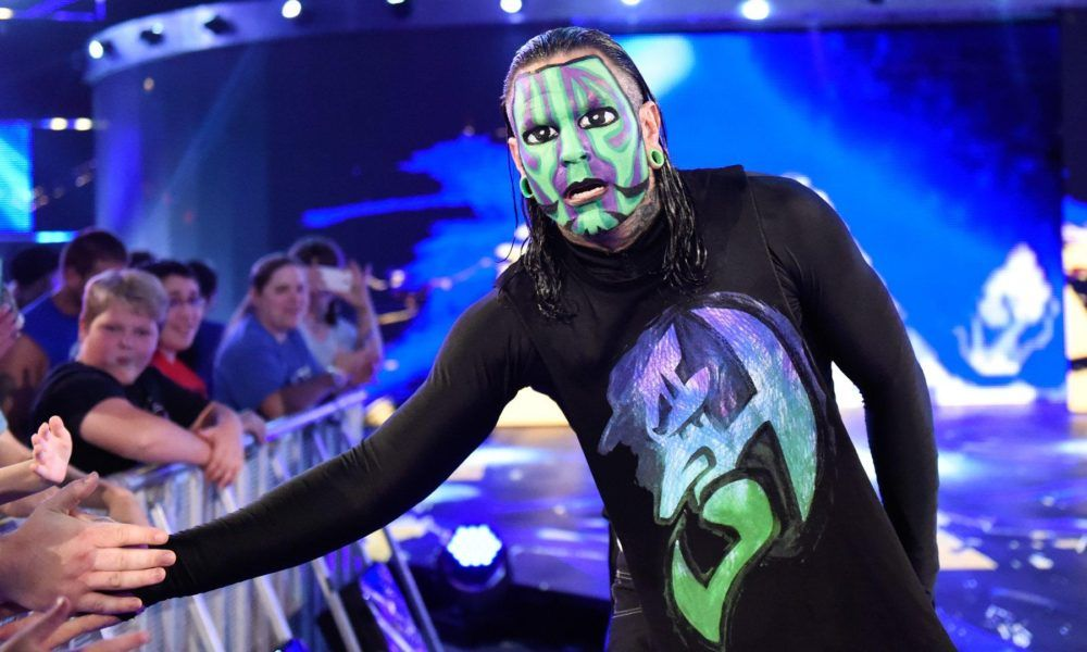Jeff Hardy reveals which WWE Hall Of Famers inspired his ...Jeff Hardy Wrestlemania 25 Face Paint