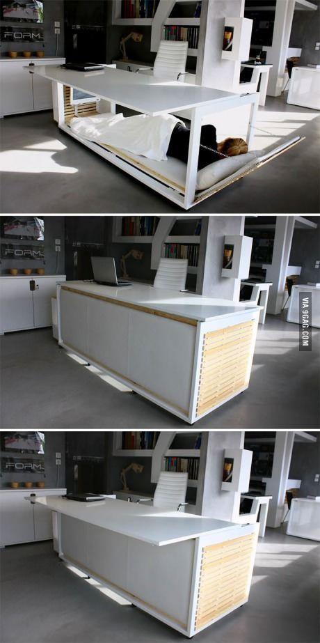 The Nap Desk Every Deadline Fighter Needs Design Di Mobili Scrivania Letto Idee Per La Casa