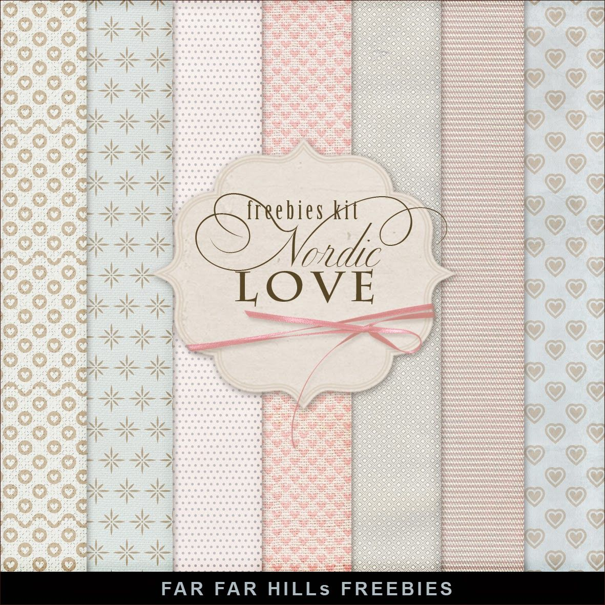 New Freebies Kit of Backgrounds - Nordic Love | cards | Pinterest ...
