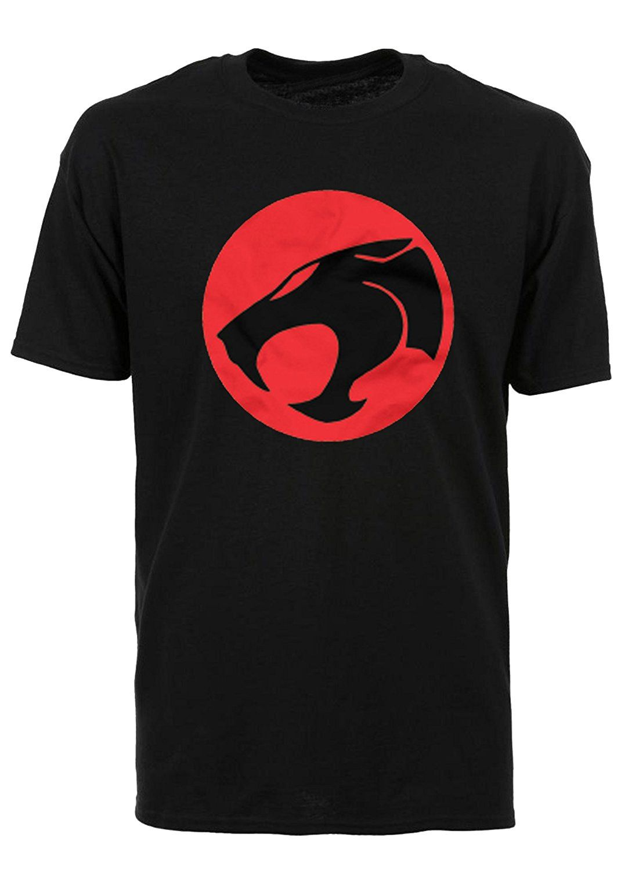 Classic 1980s thundercats logo black tshirt amazonco