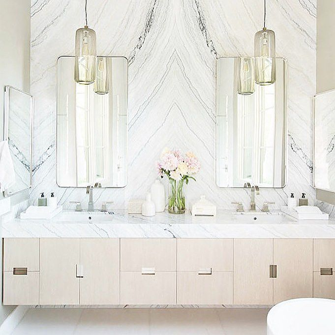 Elegant Bathroom Goals Flowers: And Exhale... Right Here. Bathroom Goals. Source: Studio L