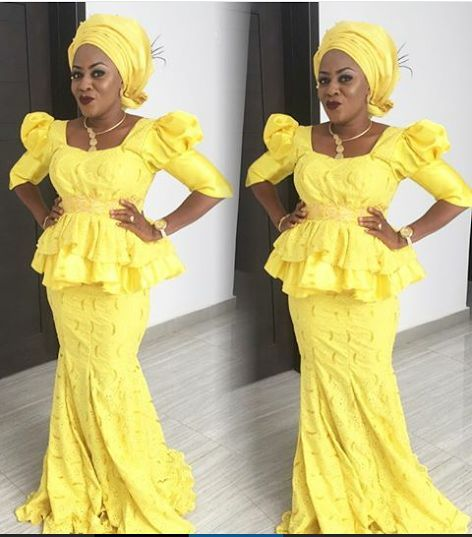 Top Ten Super Stylish Lace Gown Styles For Owambe Party | beautiful ...