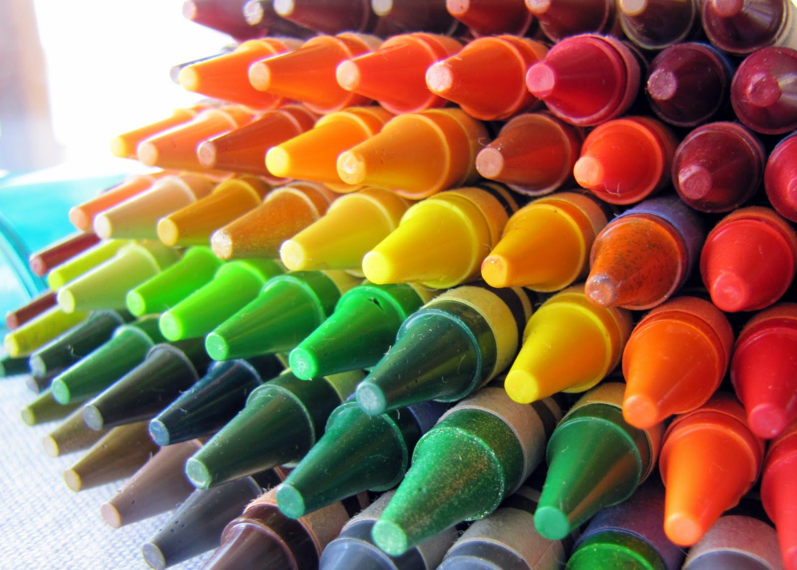 crayola crayons... the best   things i loved as a child & still do ...