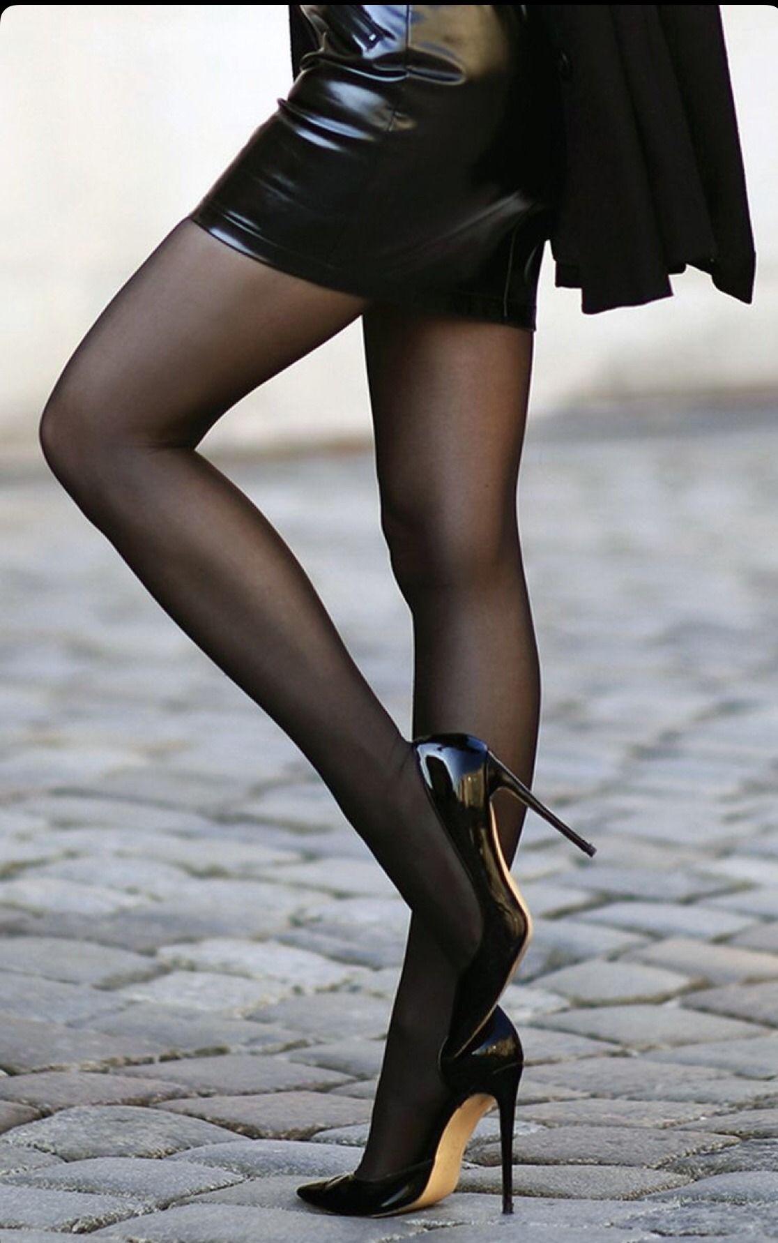Black Fish Net Stockings