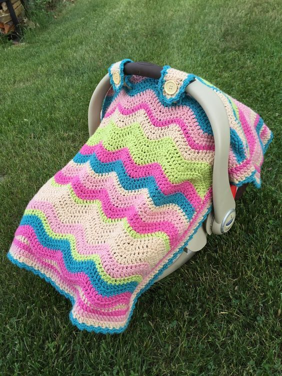 Skein And Hook Free Crochet Pattern Emerson Car Seat Cover Or Baby