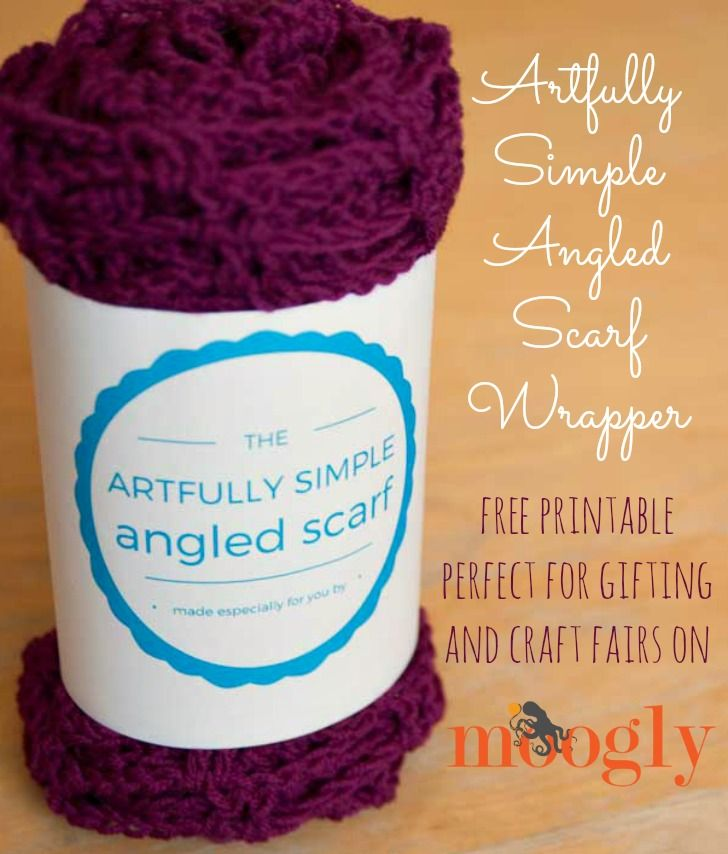 Artfully Simple Angled Scarf Gift Wrappers | Pinterest | Ponchos y ...