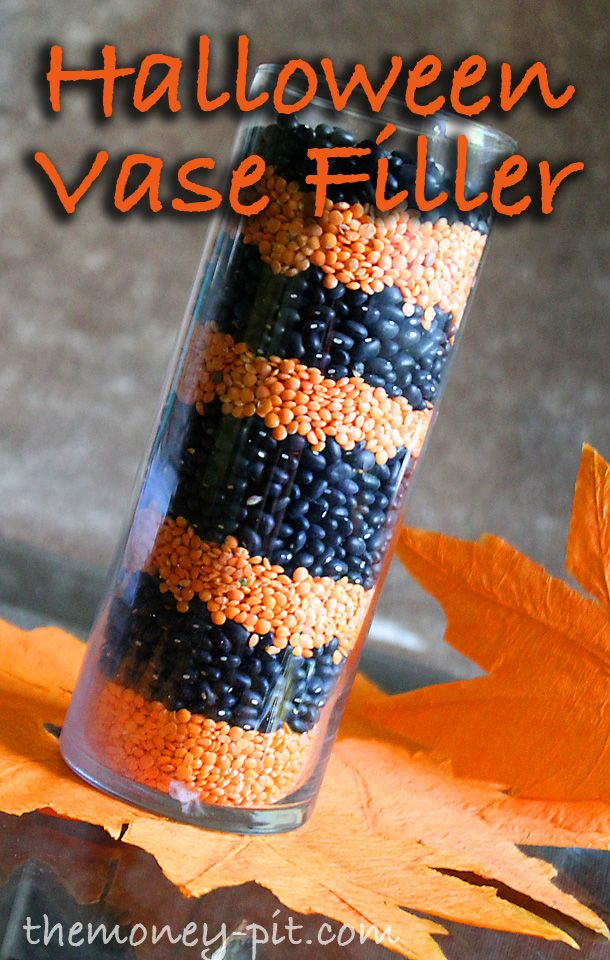 The Money Pit Halloween Bean and Lentil Vase Filler Halloween - preschool halloween decorations