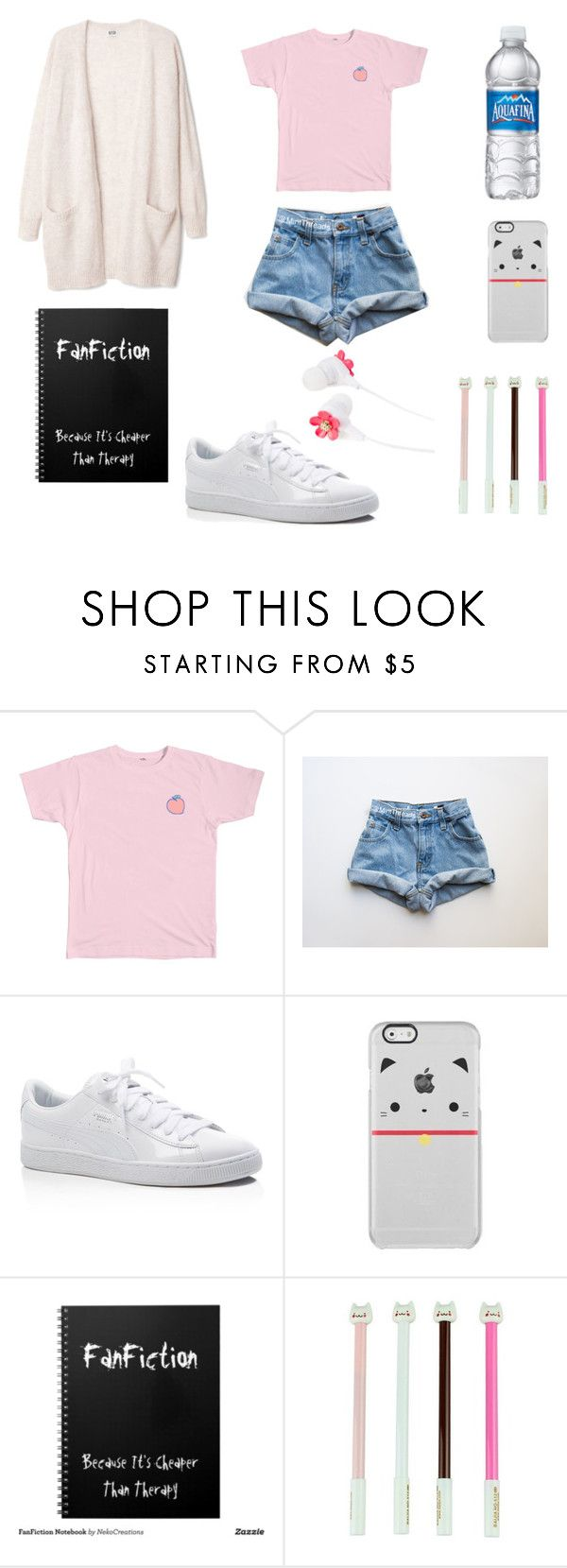 """""""fangirl #2"""" by youtubeadditction ❤ liked on Polyvore featuring Puma, Forever 21, cats and fangirl"""
