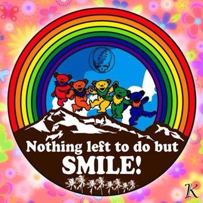 When All Is Said And Done There Is Nothing Left To Do But Smile