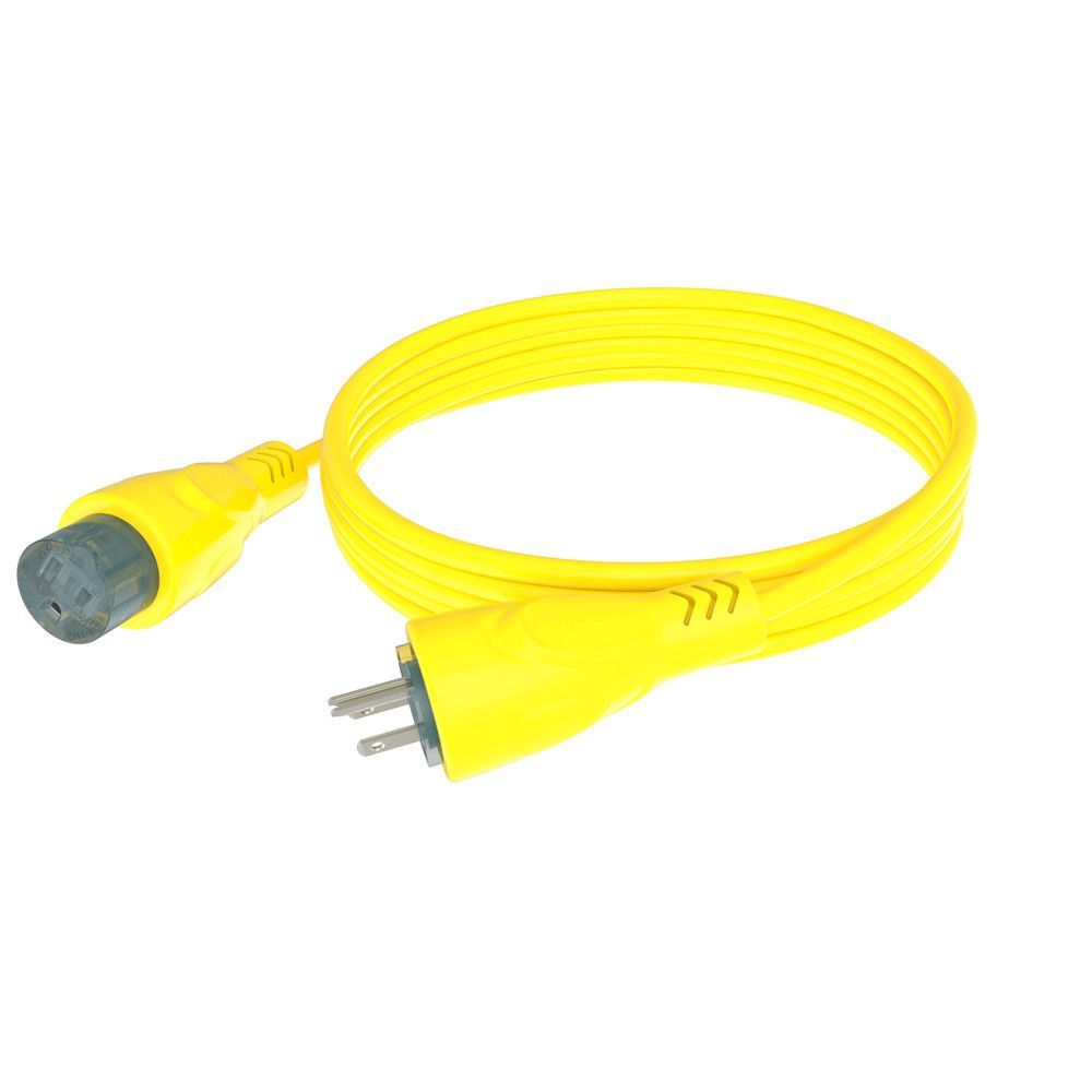 Furrion 15a Cordset 50ft Yellow Electrical Connectors Pinterest Grip Rv Power Cord Adapter Plug 125v 30 Amp Female To 15 Male