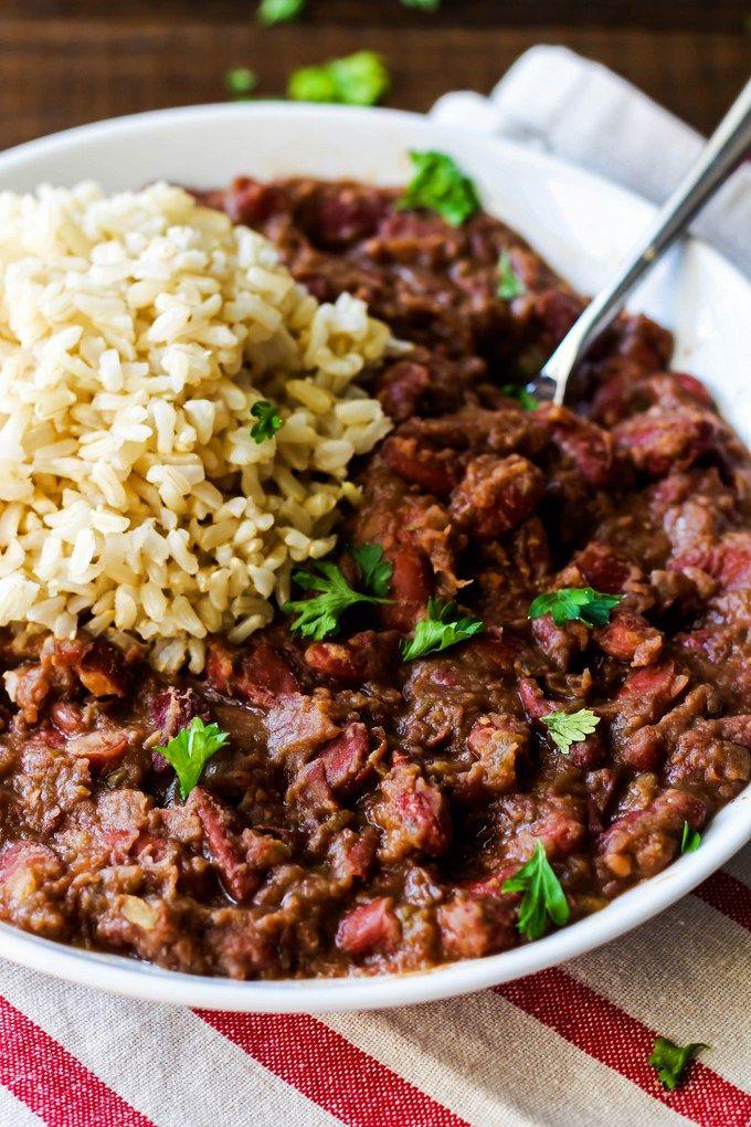 Cajun Style Vegan Red Beans And Rice