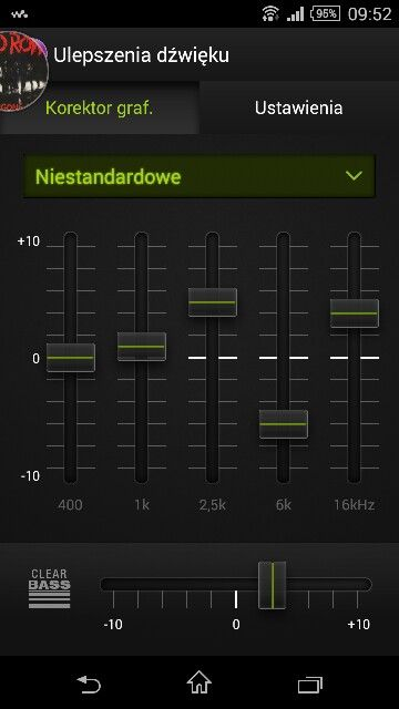 Equaliser settings for headphones with hissing trebles, ex. Samsung level in;-)