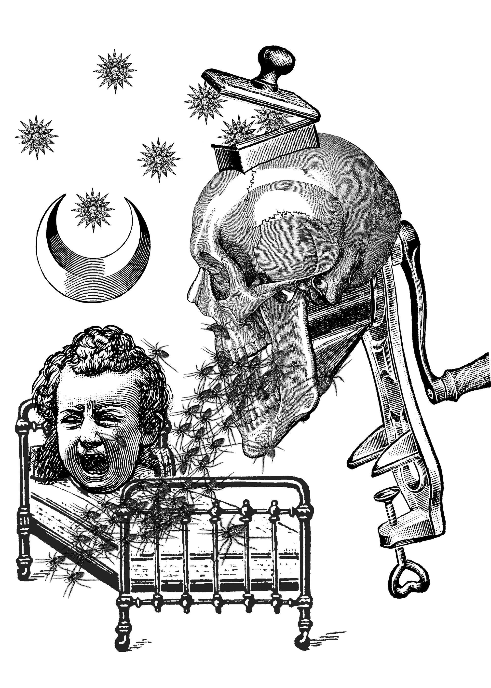 Dream machine victorian collage в 2020 г