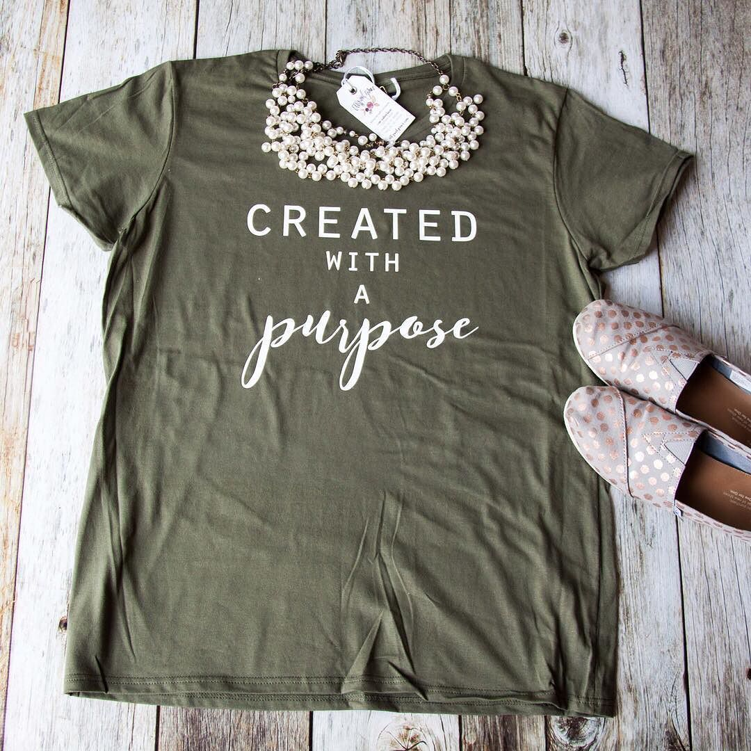 Created With A Purpose Short Sleeve Shirt In 2019