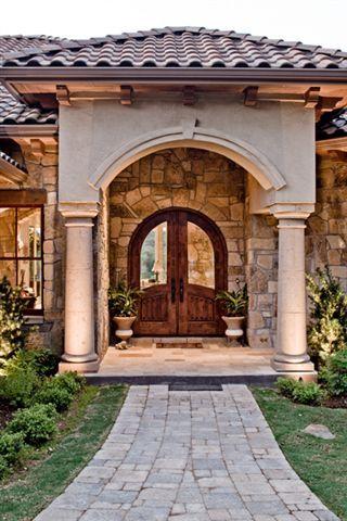 Spanish style home front door