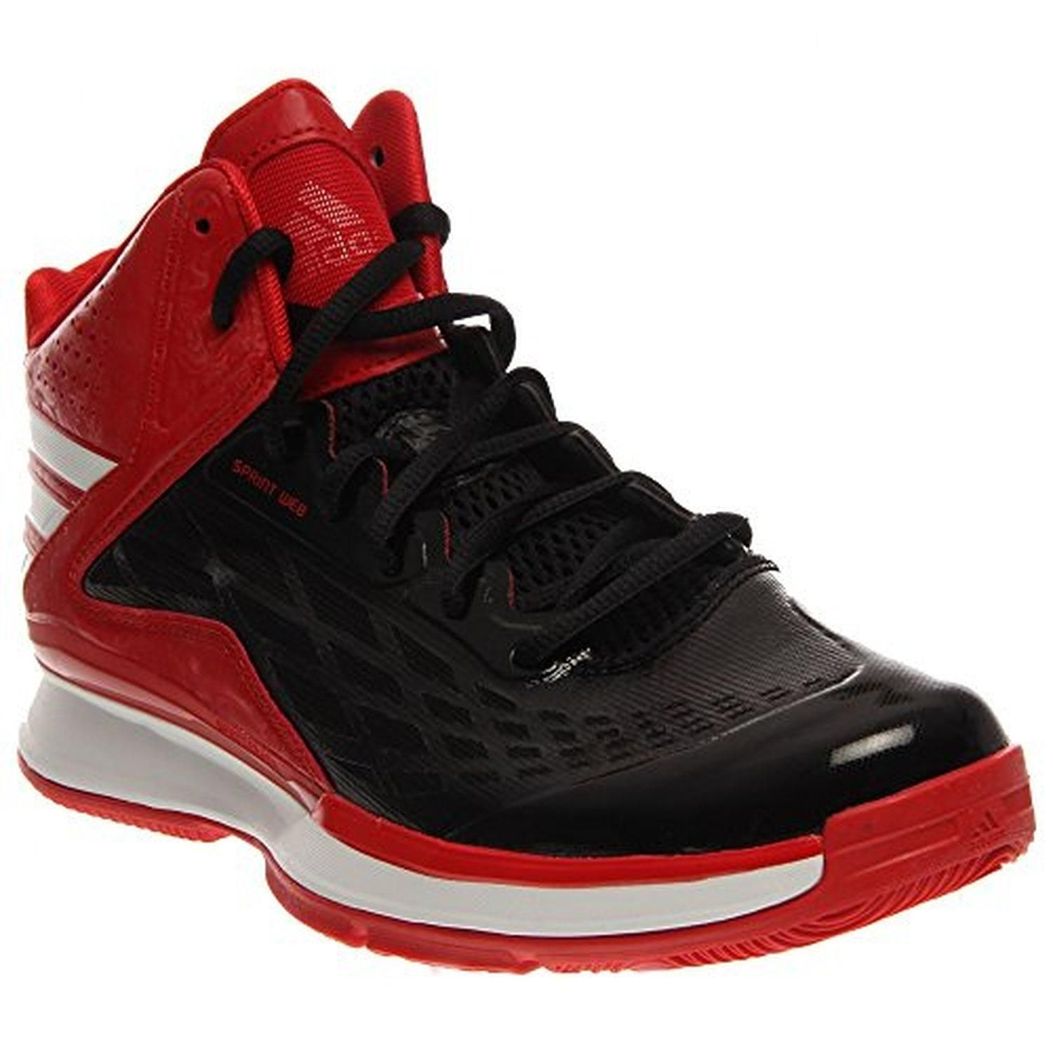 info for 13f99 a65ec Adidas Transcend Mens Basketball Shoe 8.5 Black-White-Scarlet - Brought to  you by Avarsha.com