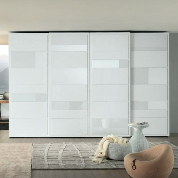 Sliding Doors Elegant Wardrobe Design White Interior Ideas Bedrooms Sliding Wardrobe Doors Sliding Door Wardrobe Designs Wardrobe Design
