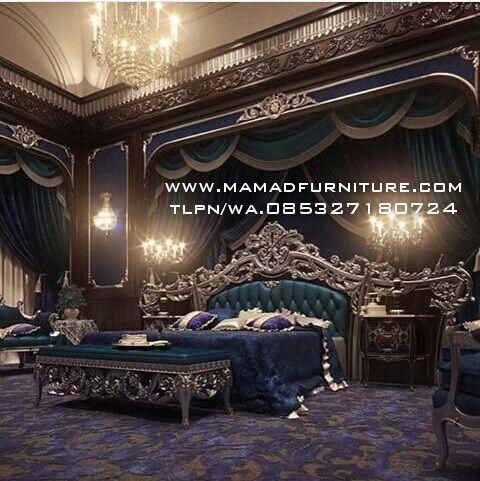 Furniture Jepara Set Kamar Ukiran Klasik Jepara Set Kamar