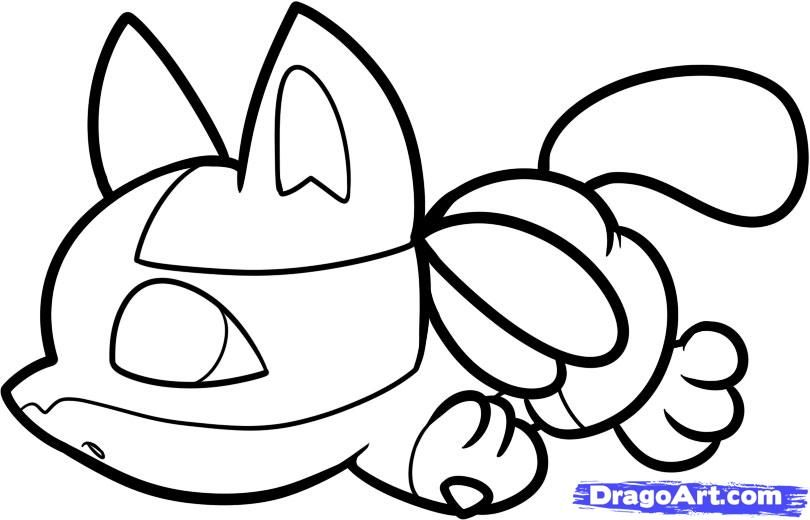How To Draw Chibi Lucario Step 6 1 000000061967 5 Jpg 810 520 Coloring Pages Pokemon Coloring Pages Pokemon Coloring