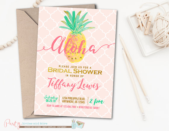 Aloha bridal shower invitation luau bridal shower invitation aloha bridal shower invitation luau bridal by partyinvitesandmore filmwisefo