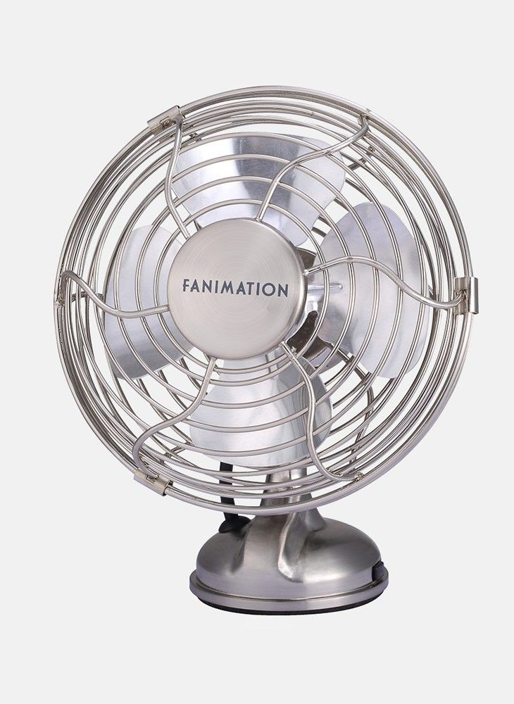 Fanimation Mini Breeze 5 In. Table Fan   The Fanimation Mini Breeze 5 In. Table  Fan Brings Traditional Style And Cooling Breezes Home.