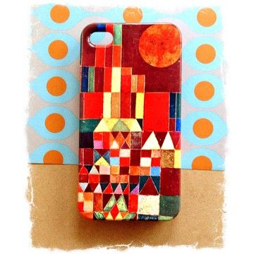 Designed With Artwork By Paul Klee The Castle And Sun Iphone 4 4s