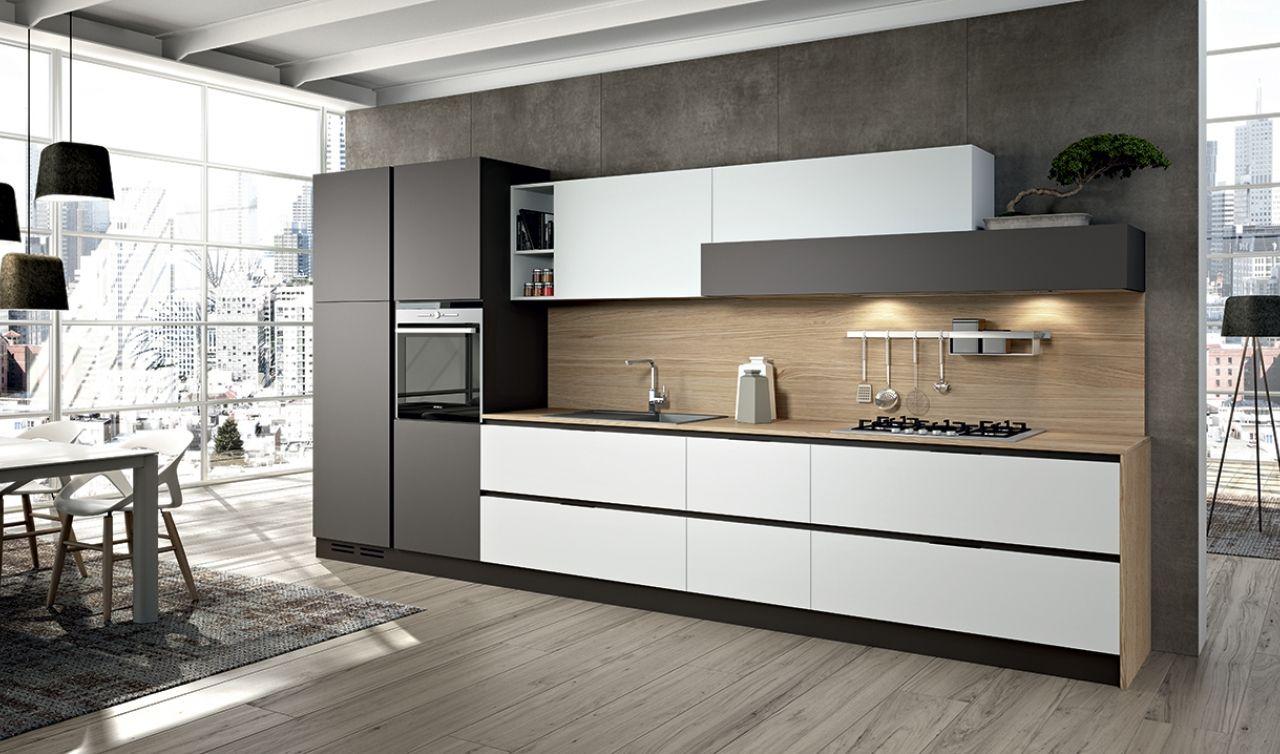 Arredo3 linea 2 en 2019 interior kitchen cuisine appartement agencement cuisine et - Cuisine lineaire design ...