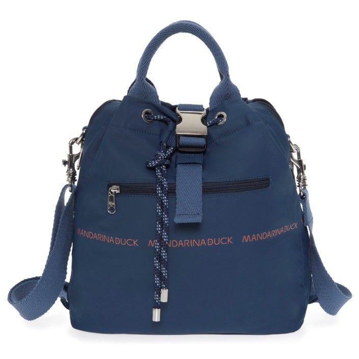 295357e5f6 MANDARINA DUCK Zaino Backpack UTILITY HVT18 Dark Denim   mandarina ...